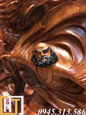 Ý nghĩa của tượng gỗ đạt ma trong phong thủy 1