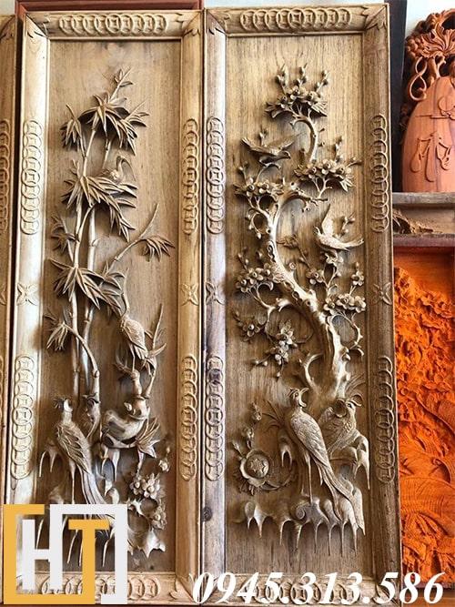 bức trúc, mai trong bộ tranh tứ quý