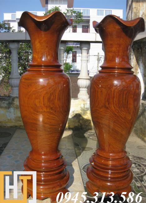 lục bình gỗ gõ đỏ