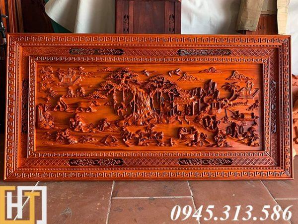 tranh gỗ đồng quê kích thước nhỏ