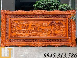tranh gỗ vinh quy bái tổ giá rẻ