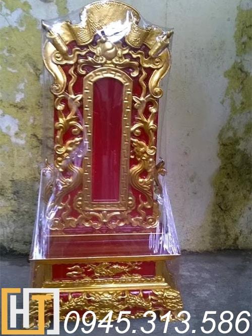 bài vị thờ gỗ mít sơn son thếp vàng ms02
