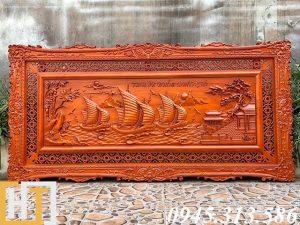 tranh gỗ thuận buồm xuôi gió giá rẻ
